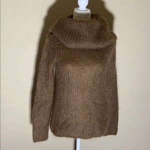 Ralph Ralph Lauren Mohair Cowl Neck Sweater